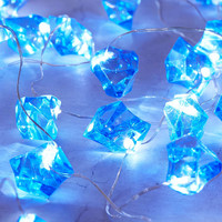 Blue Crystal String Lights - Urban Outfitters