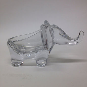 Vannes Crystal Elephant made in France