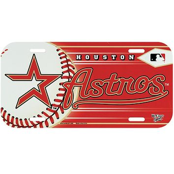 Houston Astros - Baseball License Plate