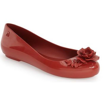 Melissa 'Space Love Flower' Ballet Flat (Women) | Nordstrom
