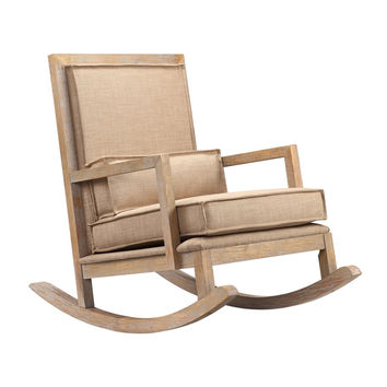 Monroe Upholstered Rocking Chair