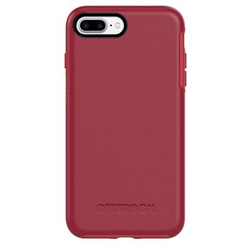 OtterBox SYMMETRY SERIES Case for iPhone 7 Plus (ONLY) - Retail Packaging - ROSSO CORSA (FLAME RED/RACE RED)
