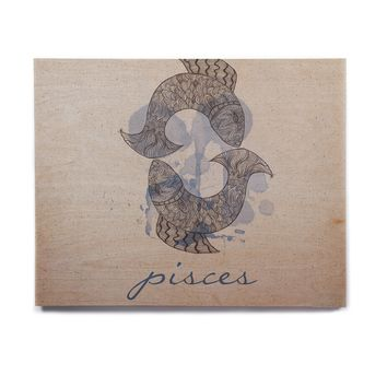 "Belinda Gillies ""Pisces"" Birchwood Wall Art"