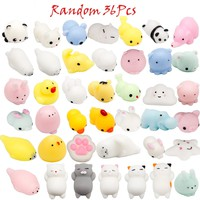 36 Pack Funy Animals Squishies Soft Cute Squishy Squeezy Kawaii