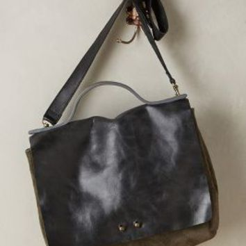 Jo Handbags Ellyn Satchel in Carbon Size: One Size Bags