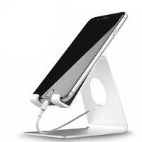 Sleek Aluminum Smartphone + Tablet Stand