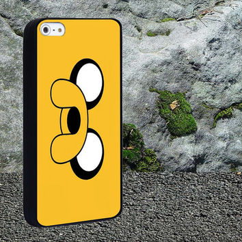 Jake the Dog Adventure Time Case for iPhone 4/4s,iPhone 5/5s/5c,Samsung Galaxy S3/s4 plastic & Rubber case, iPhone Cover