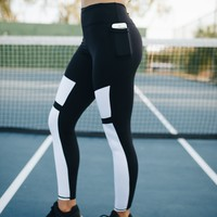 Athens Pants - Black and White