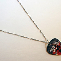 Guitar Pick Necklace: My Chemical Romance - MCR