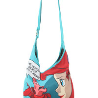 Disney The Little Mermaid The Human World Hobo Bag
