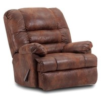 Walmart: Chelsea Home Big Mans Handle Reclining Chair