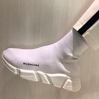 Balenciaga Speed Stretch Knit Mid Sneakers Sport Shoes