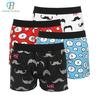 Pink Hero Underwear: Men's Boxer Shorts in Print Pattens - 4 Pack