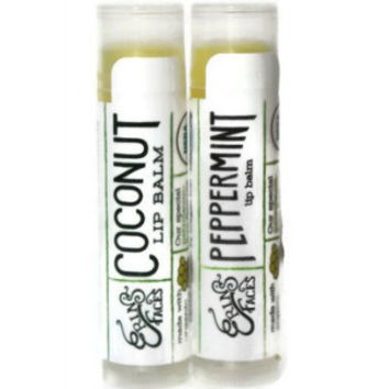 Organic Coconut & Peppermint Lip Balm Duo