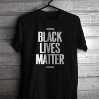 Black Lives Matter BLM Women's Casual T-Shirt