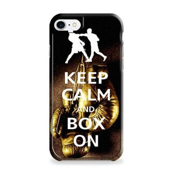 Keep Calm Wwe Boxing Gloves iPhone 6 | iPhone 6S Case