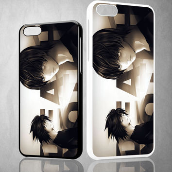Death Note L Z1216 iPhone 4S 5S 5C 6 6Plus, iPod 4 5, LG G2 G3 Nexus 4 5, Sony Z2 Case
