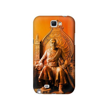 P1104 Shivaji Maharaj Comes Marathas Case For Samsung Galaxy Note 2