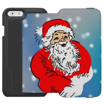 Santa claus iPhone 6/6s wallet case