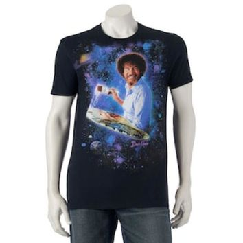DCCKX8J Men's Bob Ross Tee | null