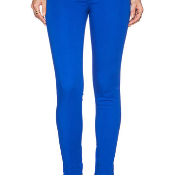 J Brand Zip Hem Crop in Royal