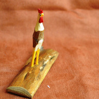 Whittled Primitive Chicken