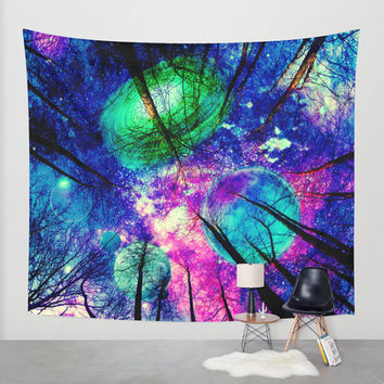 My sky Wall Tapestry by Haroulita