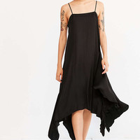 Silence + Noise Follow Me Shark Bite Slip Dress - Urban Outfitters
