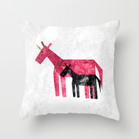 Thank's Mom Throw Pillow by That's So Unicorny
