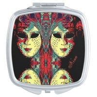 Venetian Lady Mask Mirror For Makeup