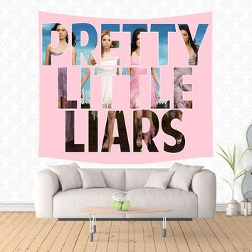 pretty little liars Tapestry Hippie Home Decorative Wall Hanging Tapestries Beach Yoga Mat Bedspread Table Cloth