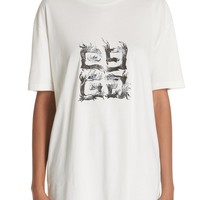 Givenchy Flame Logo Oversize Tee   Nordstrom