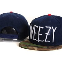 spring  deep bule and Camo cayler & sons with weezy letter baseball Snapback Caps and hats for men- women snapbacks hat