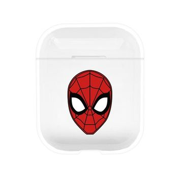 Spider Man Protective Tpu Apple Airpod Case - Clear