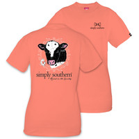 Simply Southern Preppy Cow Country T-Shirt