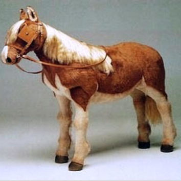 Horses - Farm Theme Decor Stuffed Animals from Big Furry Friends - Luxury Lifesize Animals, Life Size Animals, Life-like and Realistic Large Plush Animals, Stuffed Animals, Resin Animals, Fiberglass, Stuffy, Stuffies, Plushies and Statue Animals.