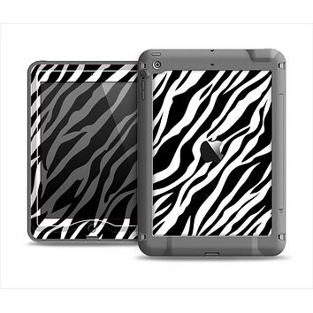 The Simple Vector Zebra Animal Print Apple iPad Air LifeProof Nuud Case Skin Set