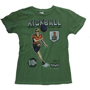 Browne's Picture Cards Kickball Kids T-Shirt