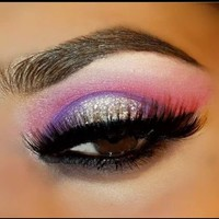 Purple And Pink Eye Makeup
