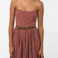 UrbanOutfitters.com > Greylin Printed Strapless Dress
