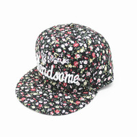 Summer Ladies Alphabet Hip-hop Hats [4917679364]