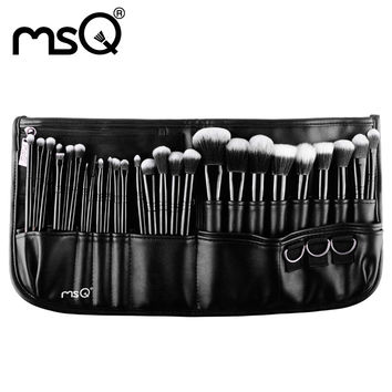 MSQ Brand New Arrival Sythetics hair 29pcs/set Makeup Brush Set Cosmetics Makeup Pincel Maquiagem Makeup Tool