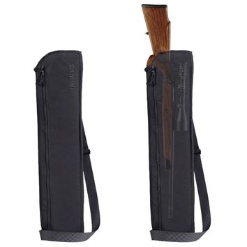 OneTigris Tatical Rifle Shotgun Scabbard 29inch Molle Shotgun Case w/ Shoulder Sling Remington 870 Mossberg and Winchester