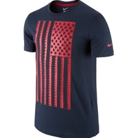 Nike Men's USA Navy Flag T-Shirt - Dick's Sporting Goods