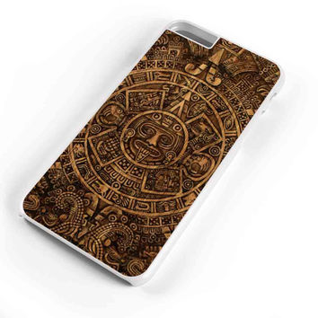 Aztec Mayan Calendar Wood Patern  iPhone 6s Plus Case iPhone 6s Case iPhone 6 Plus Case iPhone 6 Case