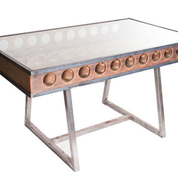 wine rack dinning table free shipping