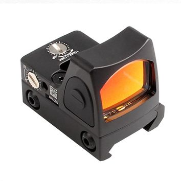 RMR Style Glock Red Dot Sight Collimator Scope Reflex Sight Scope fit 20mm Weaver Rail For Airsoft Hunting Rifle Scope 5-0004-2