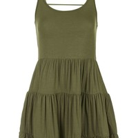 Strappy Tiered Tunic - Topshop