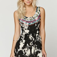 Billabong Wandering Gypsy Romper - Womens Dress - Black