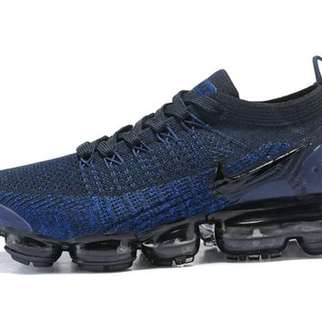 Nike Air Vapormax Flyknit 2 Royal Blue Black shoe